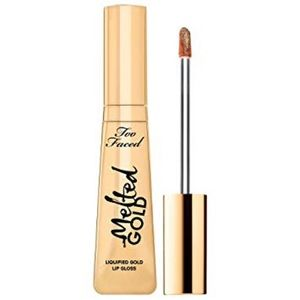 Too Faced Melted Gold Lipgloss